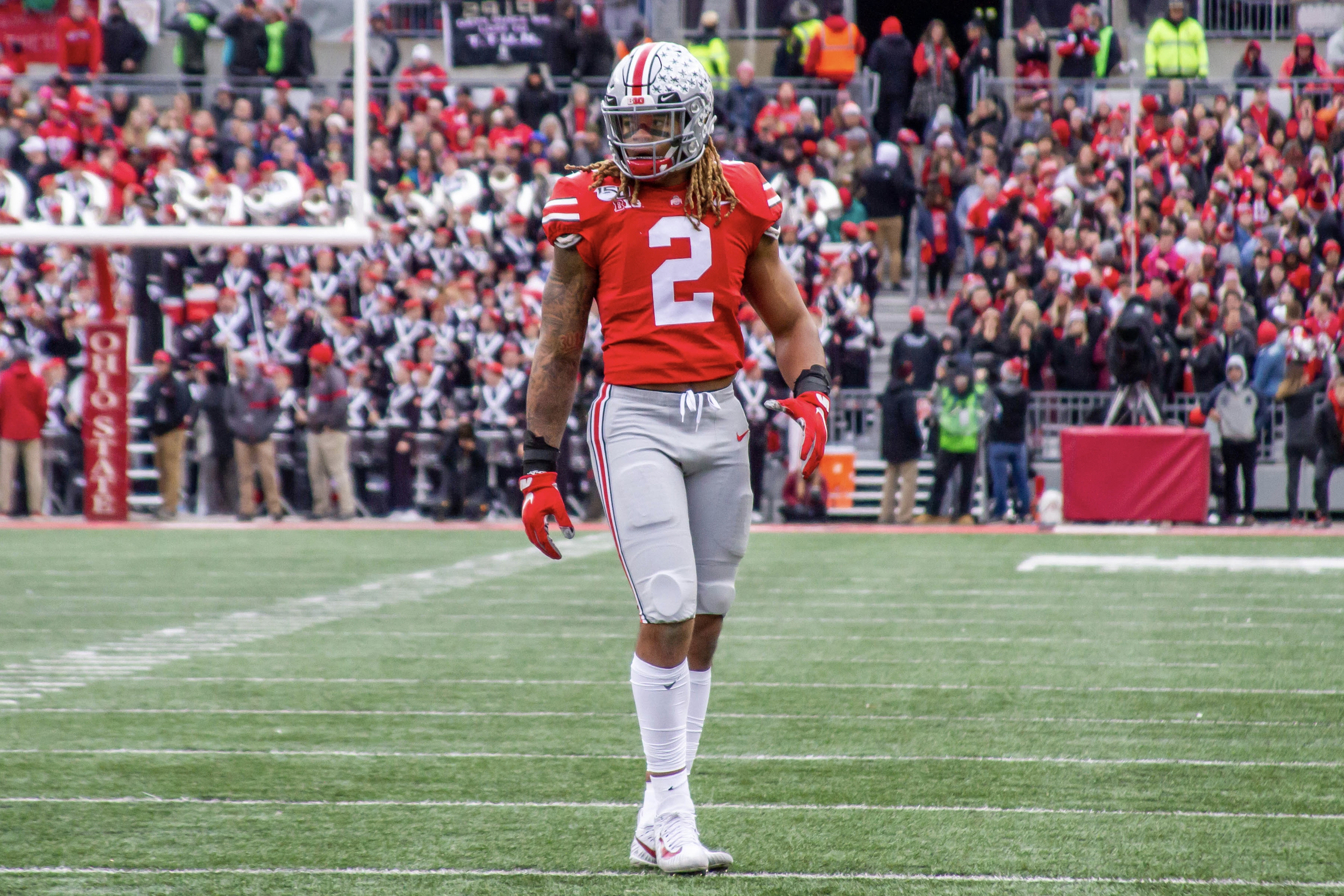 Ohio State Defensive End Chase Young Wins 2019 Silver Football Buckeye Sports Bulletin